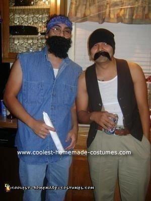 Homemade Cheech and Chong Costumes