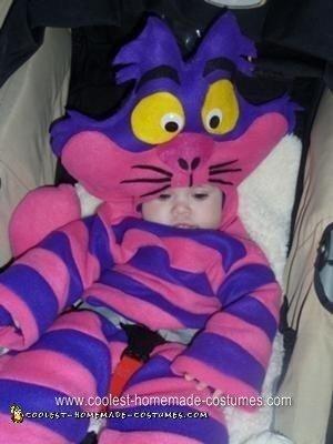 Homemade Cheshire Cat Halloween Costume