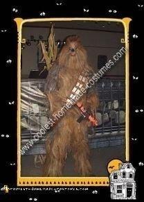 Homemade Chewbacca Costume