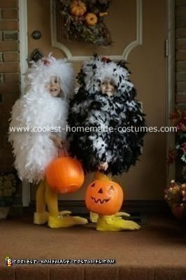 Homemade Chicken Costumes