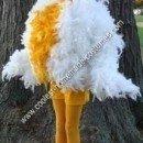 Homemade Chicken Halloween Costume