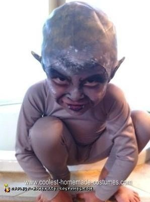 Homemade Child Gargoyle Halloween Costume
