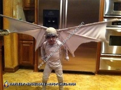 Homemade Child Gargoyle Halloween Costume