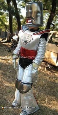 Coolest Homemade Child Robot Costume