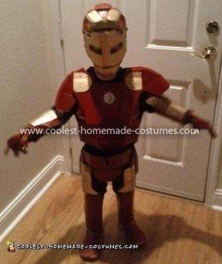 Coolest Homemade Child's Iron Man Costume