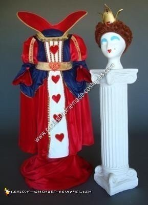 Homemade Child's Queen of Hearts Gown