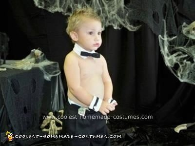 Homemade Chippendale Dancer Costume