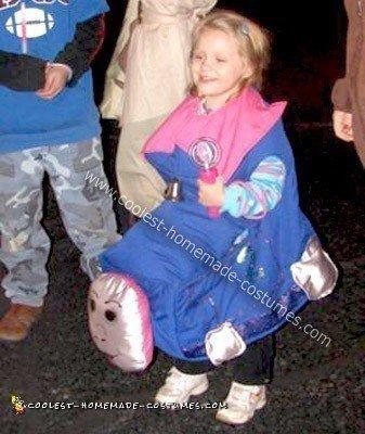 Homemade Choo Choo Train Child Costume