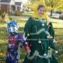 Homemade Christmas Tree Costume