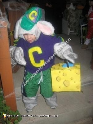 Homemade Chuck E. Cheese Toddler Costume Idea
