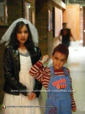 Homemade Chucky and Chucky's Bride Costume