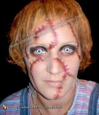 Homemade Chucky Halloween Costume