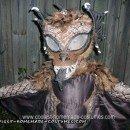 Homemade Chupacabra (Goat Sucker) Halloween Costume