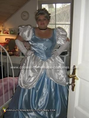 Homemade Cinderella Costume