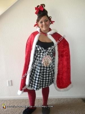 15 Coolest Homemade Cindy Lou Who Costumes