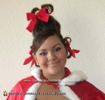 Homemade Cindy Lou Who Halloween Costume