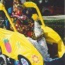 Homemade Circus Clown in a Clown Car Wheelchair Costume