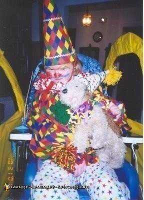Homemade Circus Clown in a Clown Car Wheelchair Costume