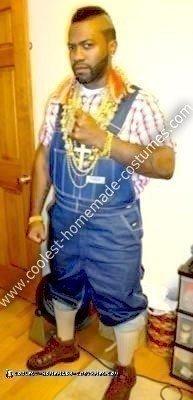 Homemade Classic Mr. T Costume