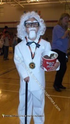 Homemade Colonel Sanders Costume