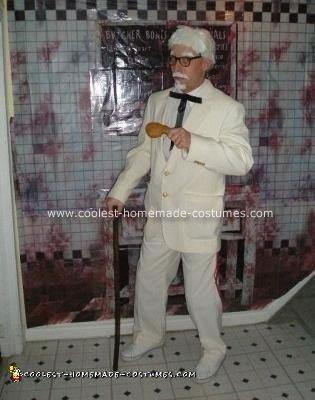Homemade Colonel Sanders Costume
