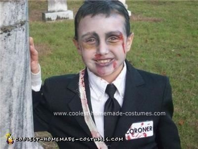 Homemade Coroner Costume