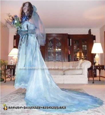 Homemade Corpse Bride Costume