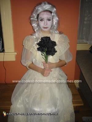 Homemade Corpse Bride Halloween Costume