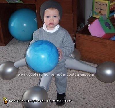 Jack as a Jack homemade costume