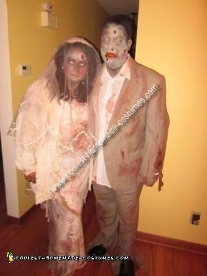 Homemade Couple Zombie Costume