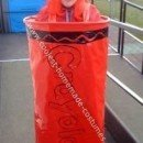 Homemade Caryola Crayon Costume