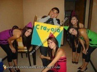 Homemade Crayon Costume Ideas
