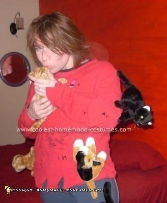 Homemade Crazy Cat Lady Costume