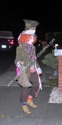 Homemade Crazy Eye Mad Hatter Halloween Costume