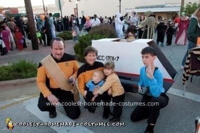 Homemade Crew of the Galileo Shuttlecraft Group Costume