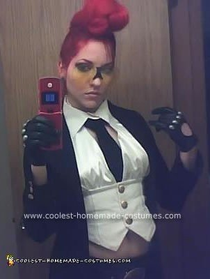 Homemade Crimson Viper from Street Fiighter 4 Costume