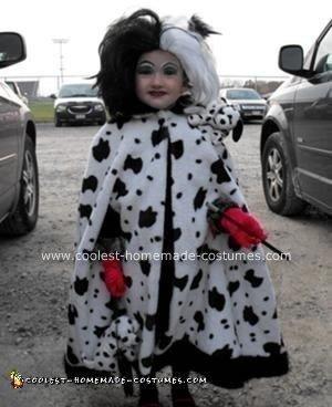 homemade cruella deville halloween costume