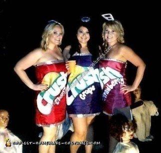 Homemade Crush Soft Drink Group Costume