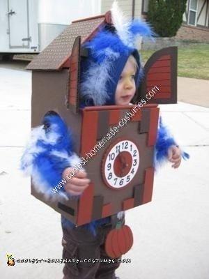 Homemade Cuckoo Clock Halloween Costume