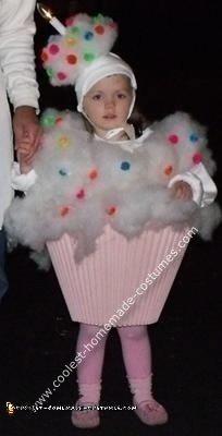 Homemade Cup Cake Halloween Costume