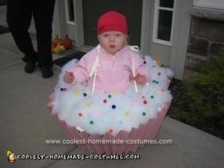 Homemade Cupcake Costume
