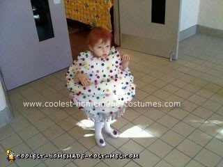 Homemade Cupcake Halloween Costume