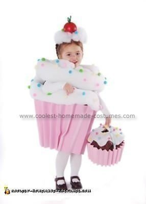 Homemade Cupcake with Sprinkles Costume