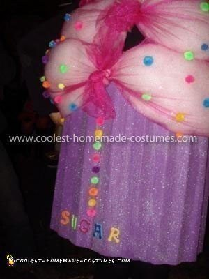 Coolest Homemade Cupcake Woman's Costume
