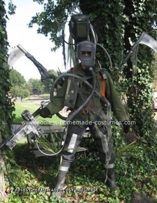 Homemade Cyborg Costume