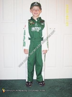 Homemade Dale Jr Halloween Costume Idea