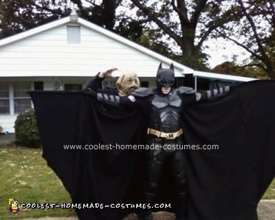Homemade Dark Knight Batman Costume