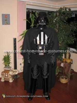 Homemade Darth Vader Costume