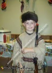 Homemade Davy Crockett Costume