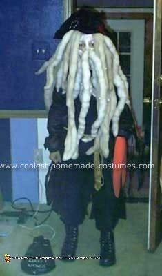 Homemade Davy Jones Costume